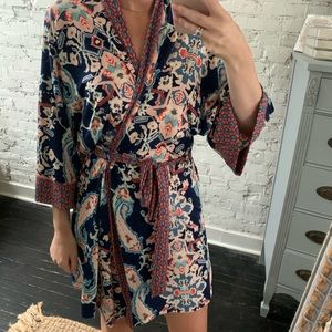 In Bloom Soft Floral Robe